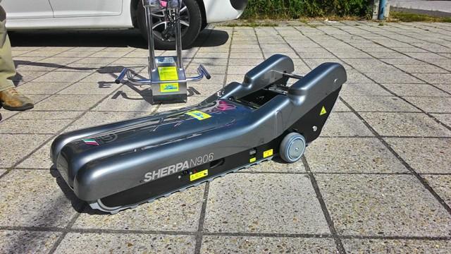 Pásový schodolez sherrpa N906 - špeciál na 150 kg 7dc299bb1f2